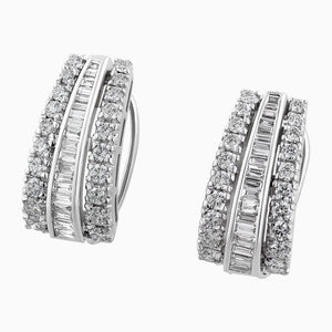 ERB0080 Fusion Broad Diamonds Earring Ballis
