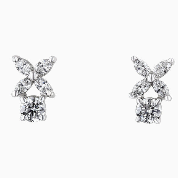 ERR0015 Star Diamond Earrings