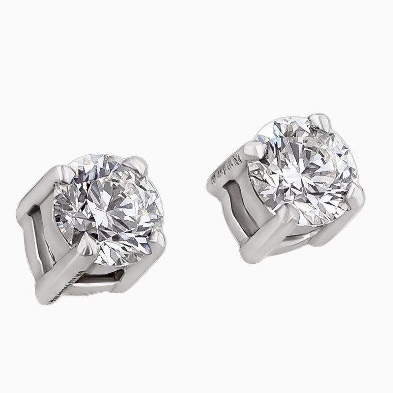 ERS0001 Diamond Solitaire Earrings