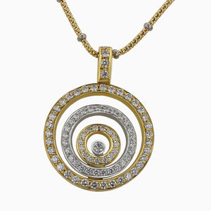 Image of the Diamond Pendant Pds0273