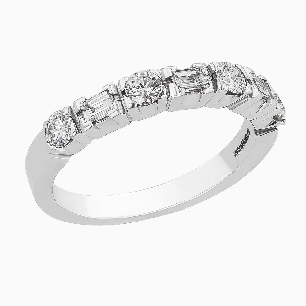 Image for the diamond white gold band rrb0021