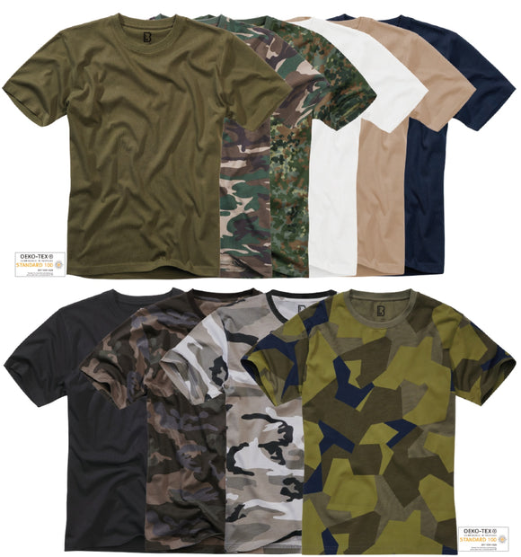 2-pack Brandit T-shirt (8 Colors | s - 7xl) T-shirt Brandit