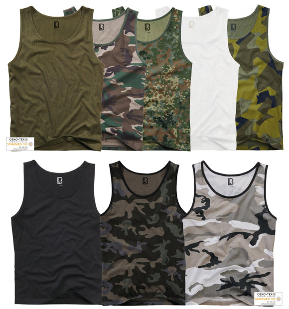 3-pack Brandit Tank top (7 Colors | s - 5xl) T-shirt Brandit