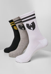 Wu Wear Socks 3-Pack