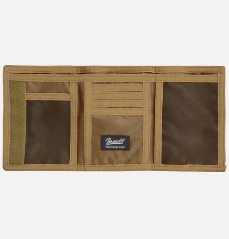 Brandit Wallet 3 Camel / One Size Accessories Brandit