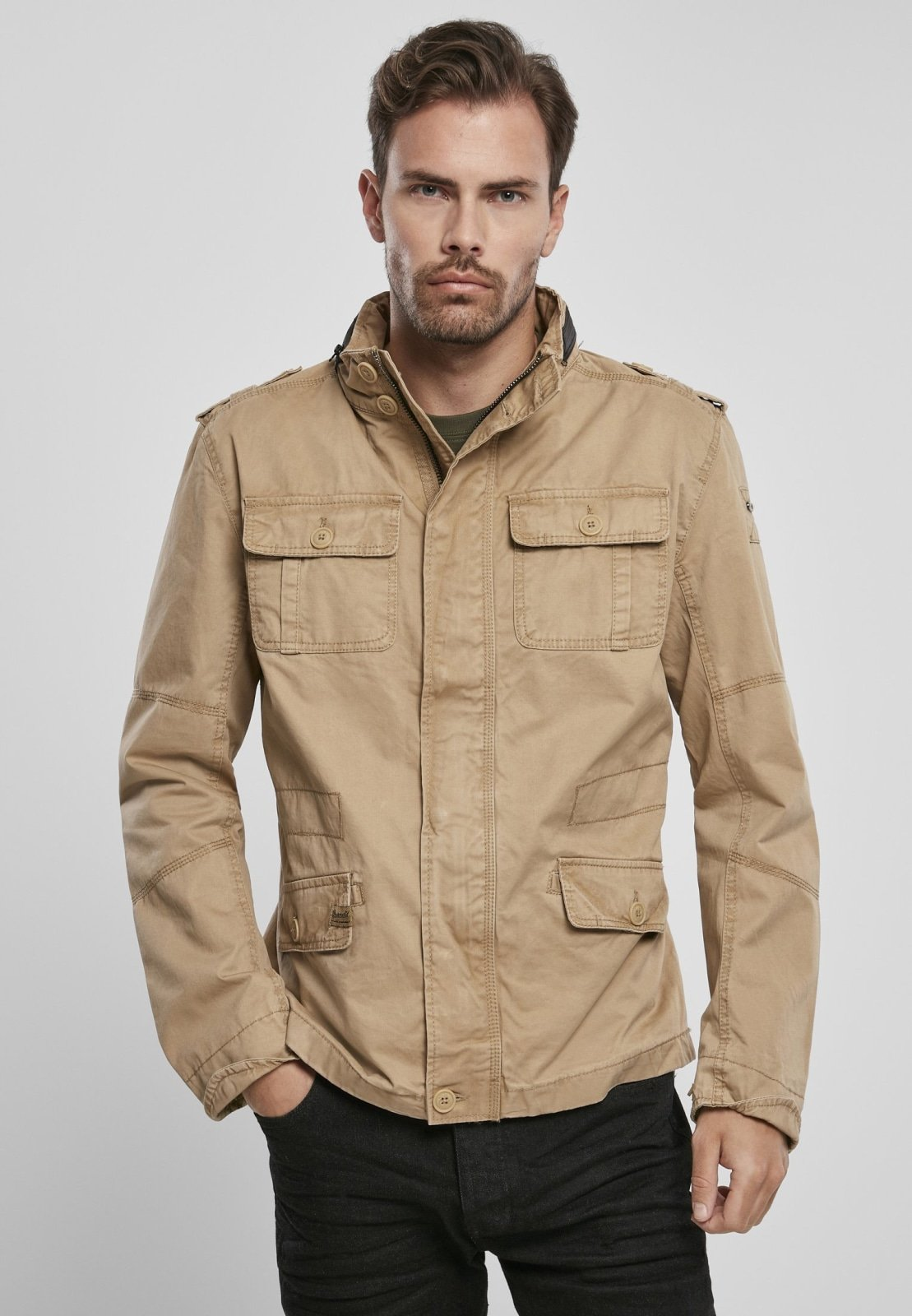 Britannia Jacket (6 Colors | Size S-5xl) Camel / s Jacket Light Brandit