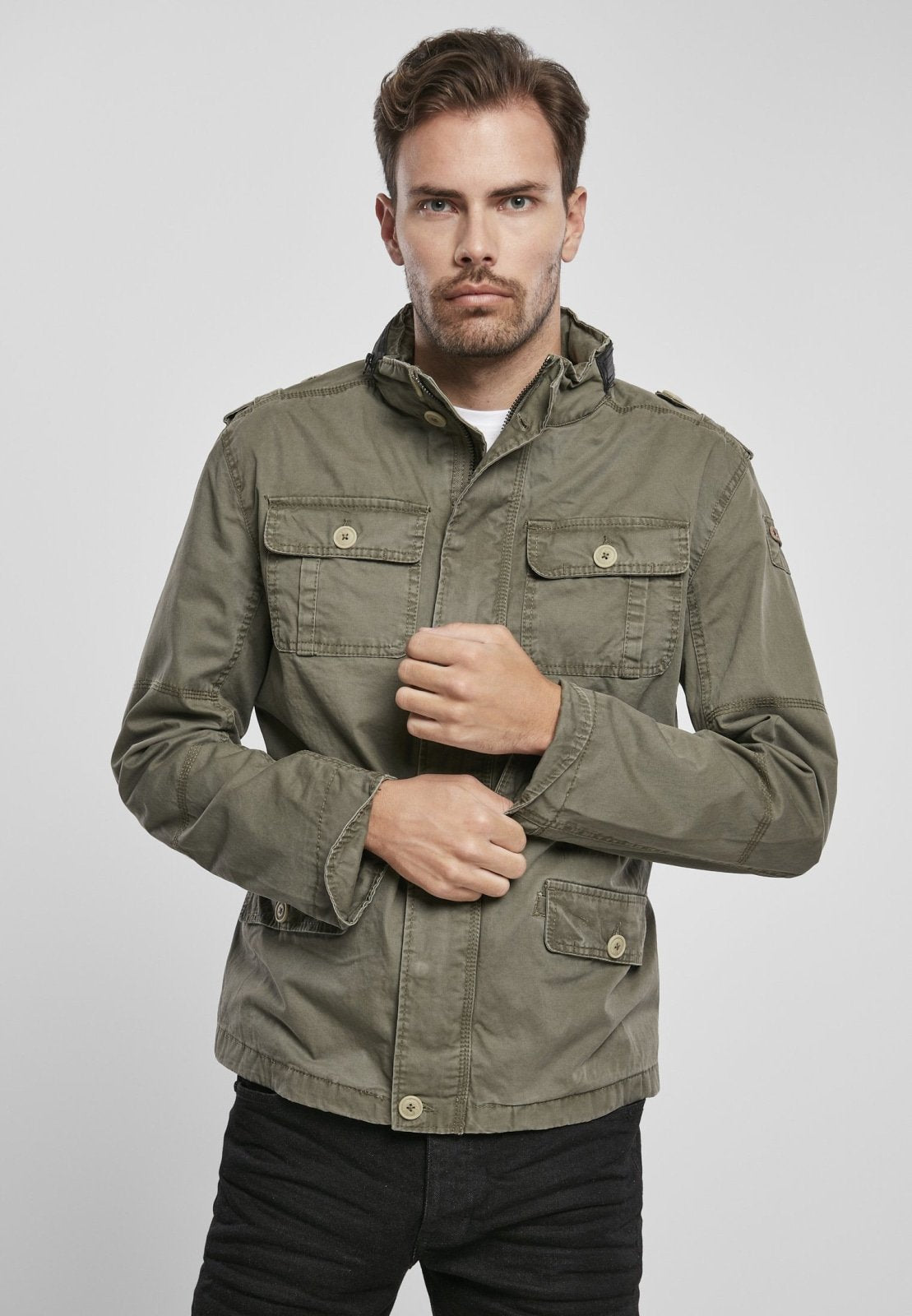 Britannia Jacket (6 Colors | Size S-5xl) Olive / s Jacket Light Brandit
