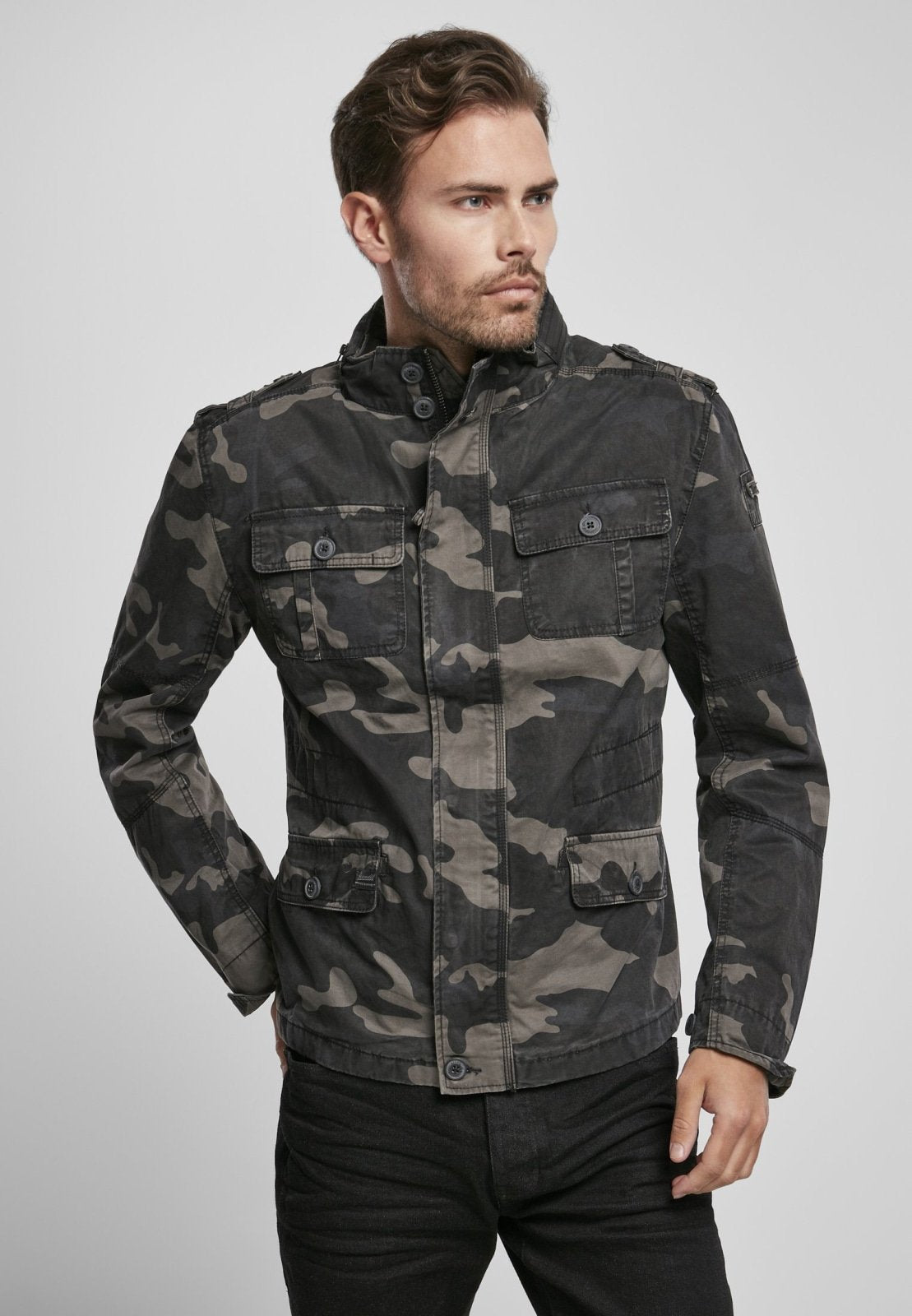Britannia Jacket (6 Colors | Size S-5xl) Dark Camouflage / s Jacket Light Brandit