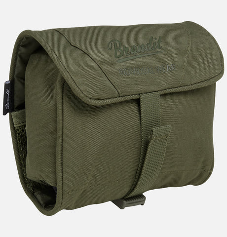 Camping/festival Toiletry Bag Medium Olive Brandit Bag Brandit