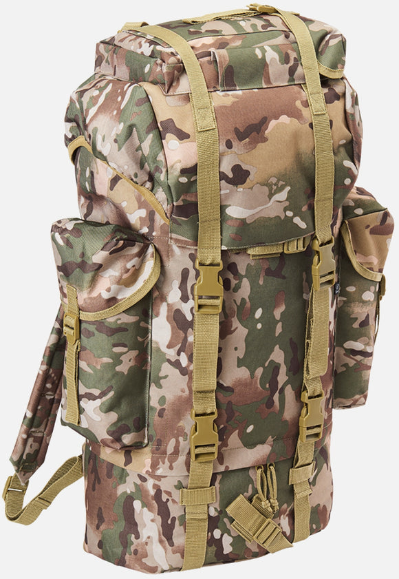 Combat Backpack (7 Colors) Tactical Camo / One Size Brandit Backpack Brandit