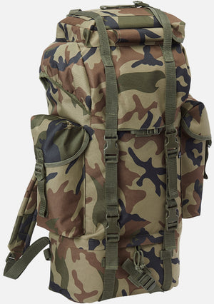 Combat Backpack (7 Colors) Woodland / One Size Brandit Backpack Brandit