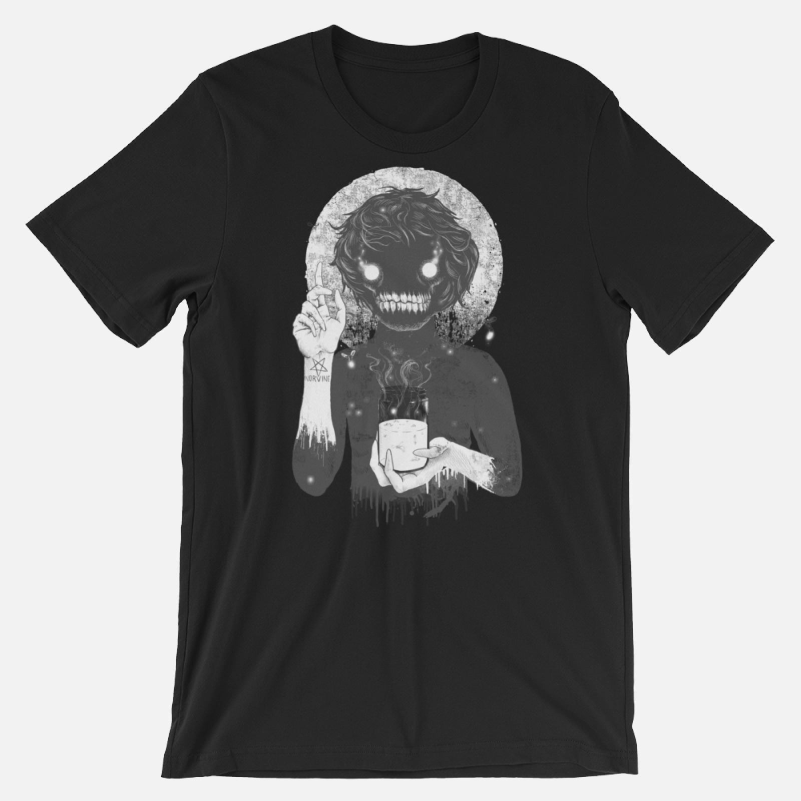 Creep Black / S T-Shirt Norvine
