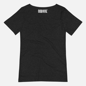 Geometric Mens Raw Neck Tee T-Shirt Norvine