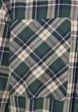 Green Southpole Check Flannel Shirt Shirt Southpole