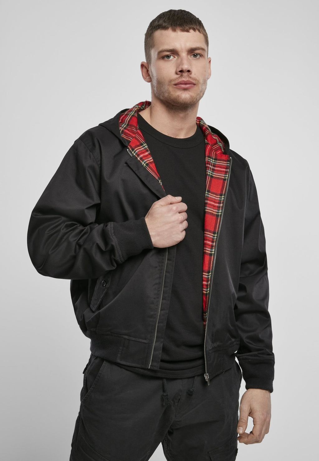 Hooded Harrington Jacket Jacket Brandit