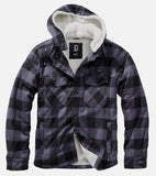 Hooded Lumber Jacket Grey / s Jacket Brandit
