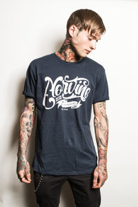 London Dyed Denim S / Denim Blue T-Shirt Norvine