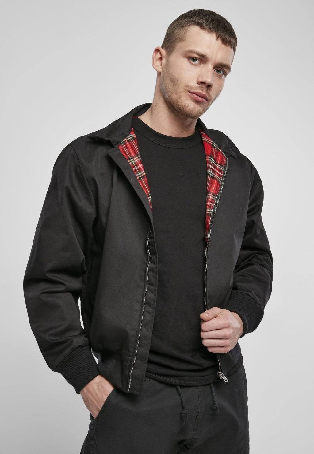 Harrington Jacket Black / s Jacket Brandit