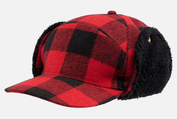 Lumberjack Canadian Winter Cap Red Headwear Brandit