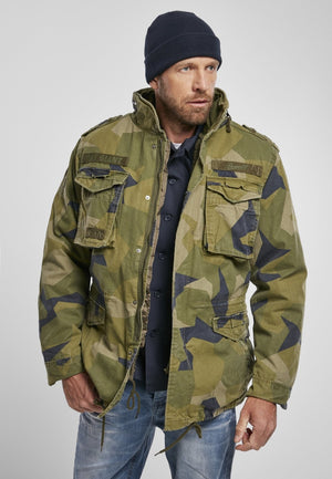 M-65 Giant (9 Colors) Swedish Camo M90 / s Jacket Brandit