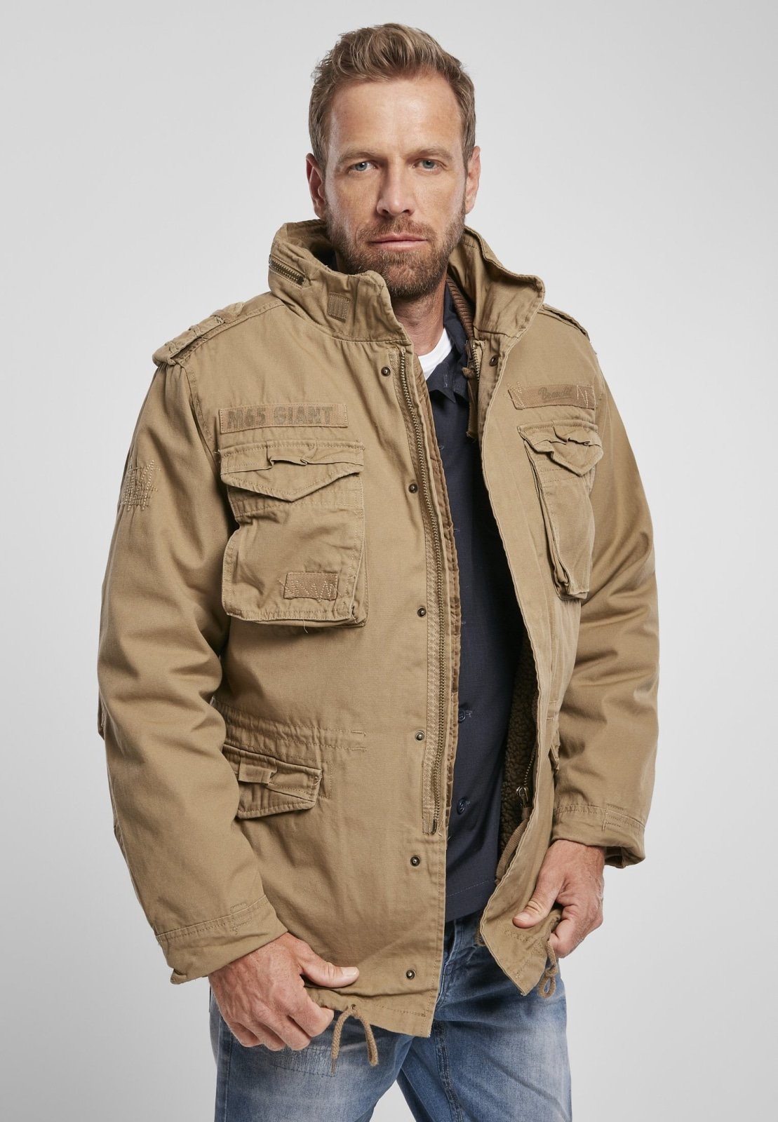 M-65 Giant (9 Colors) Camel / s Jacket Brandit
