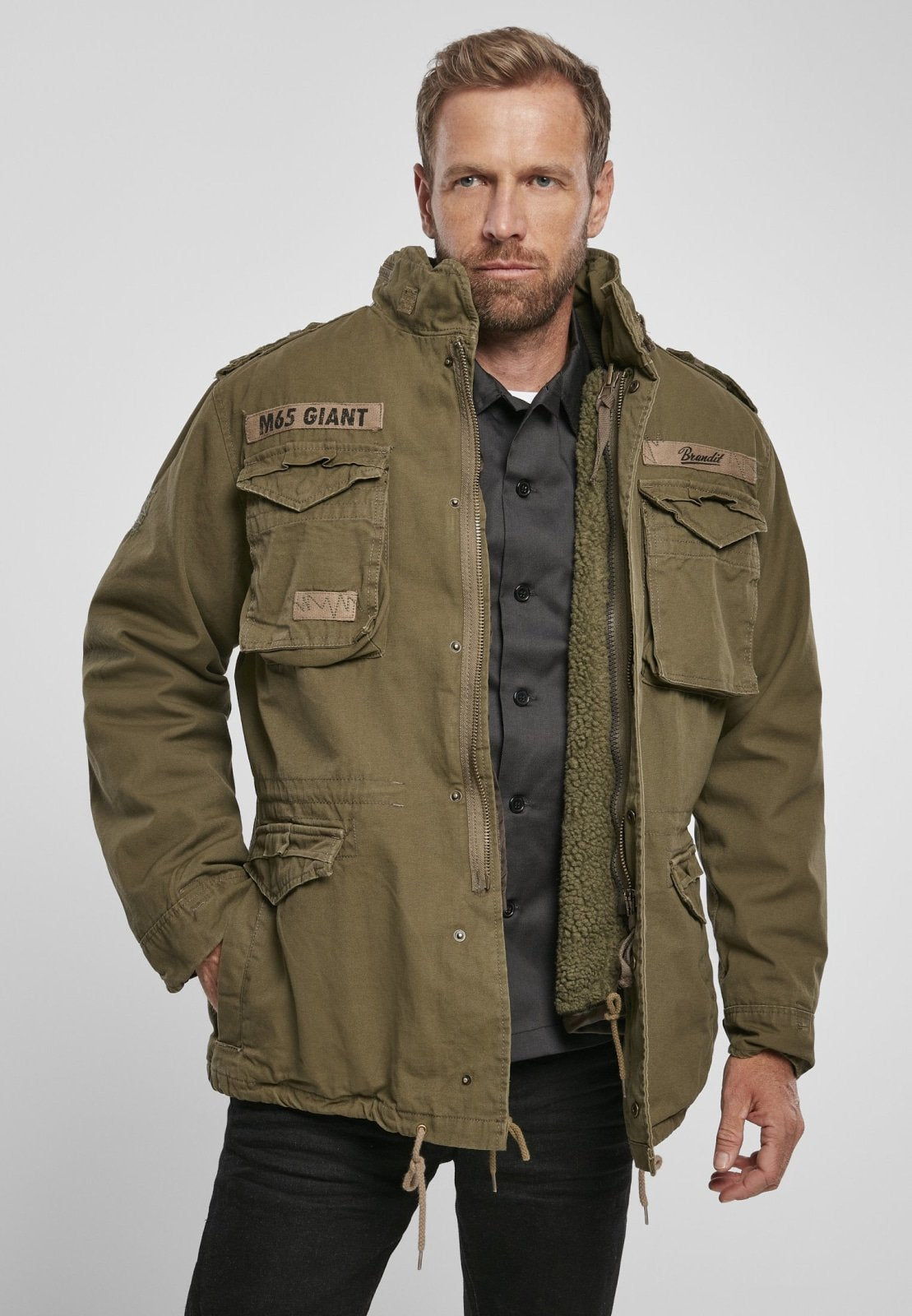 M-65 Giant (9 Colors) Olive / s Jacket Brandit