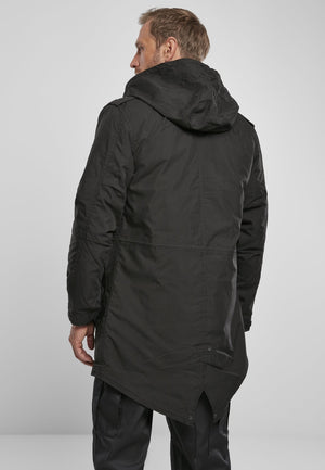 M51 U.s. Parka - Black Jacket Heavy Brandit
