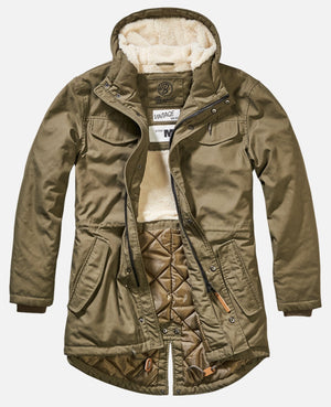 Marsh Lake Parka Olive / S Jacket Brandit