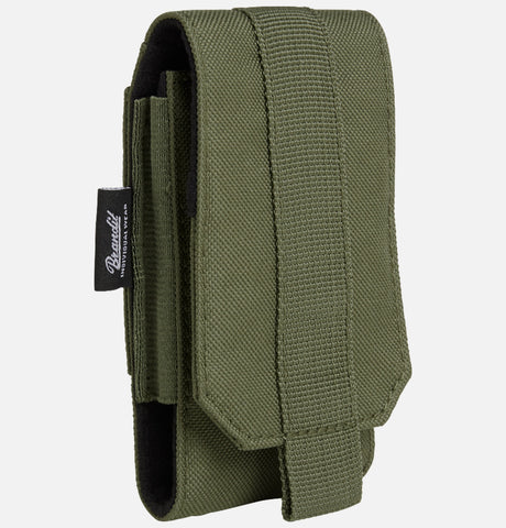 Molle Phone Pouch Medium Olive / M Brandit Bag Brandit