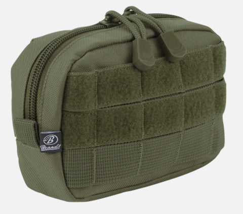Molle Pouch Compact Olive / One Size Brandit Bag Brandit