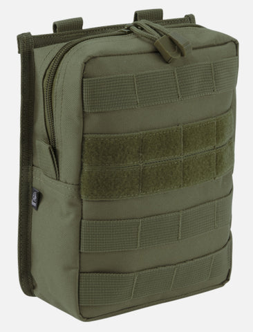 Molle Pouch Cross Olive / One Size Brandit Bag Brandit