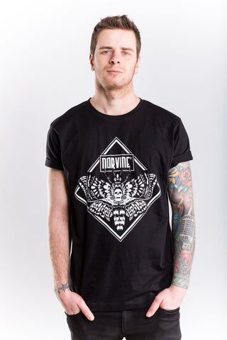 Moth S / Black T-Shirt Norvine