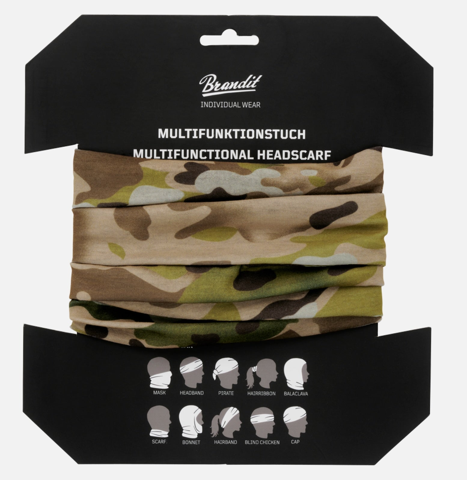 Multifunctional Headscarf (10 Colors) Tactical Camo Accessories Brandit