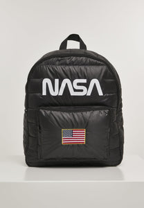 Nasa Puffer Backpack One Size / Black Nasa Mister Tee