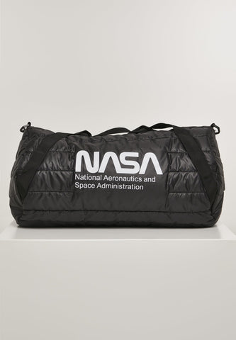Nasa Puffer Duffle Bag One Size / Black Nasa Mister Tee