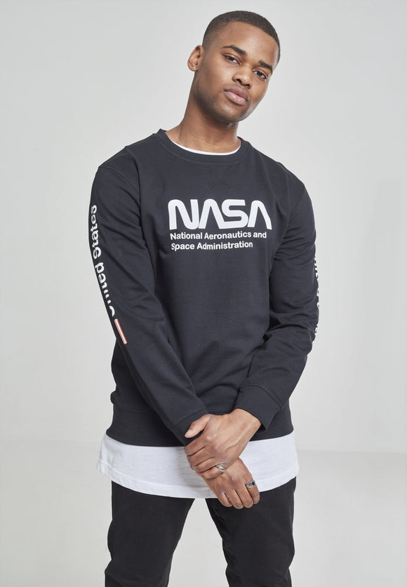 Nasa United States Longsleeve Black / S Nasa Mister Tee