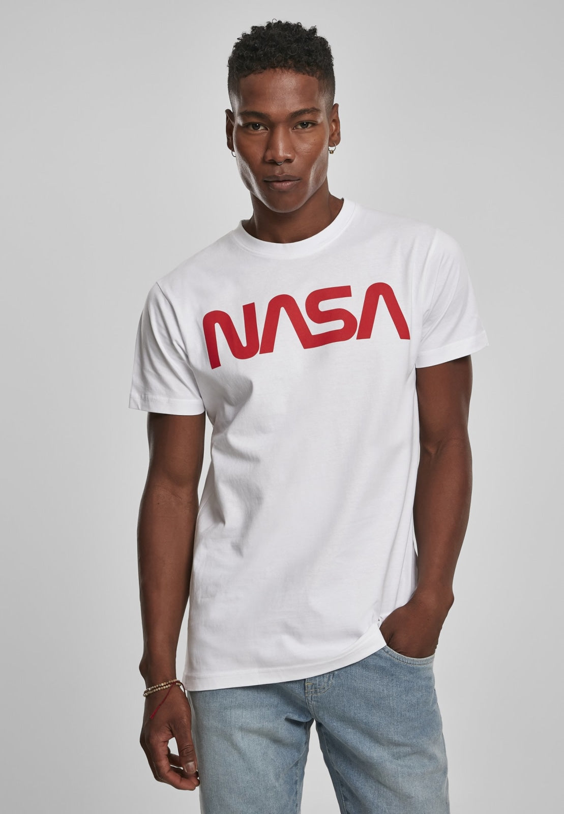 Nasa Worm Tee White / s Nasa Nasa (mt De)