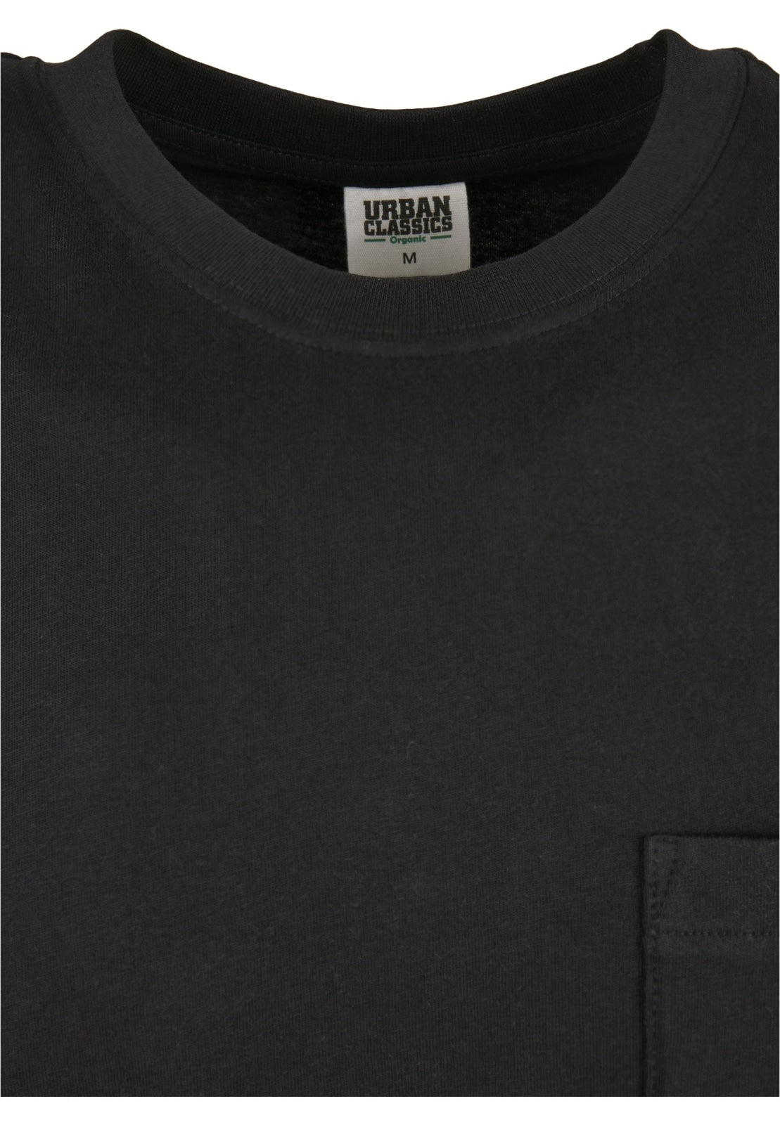 Organic Cotton Basic Pocket T-shirt 2-pack (s-5xl) Black + White T-shirt Urban Classics