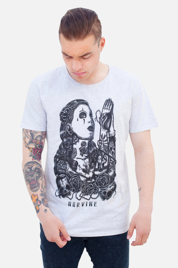 Prayer Xs / White T-Shirt Norvine