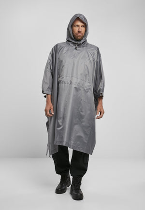 Ripstop Poncho Anthracite / One Size Jacket Light Brandit