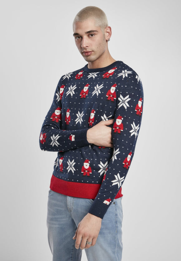 Santa and Snowflakes Sweater Xmas Urban Classics