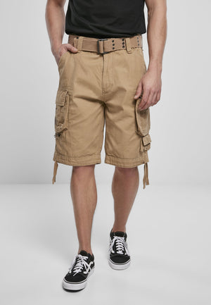 Savage Vintage Cargo Shorts (9 Colors | Sizes s - 7xl) Camel / s Pants Brandit