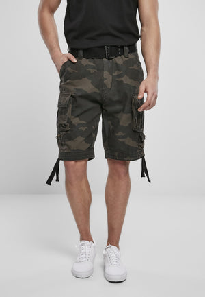 Savage Vintage Cargo Shorts (9 Colors | Sizes s - 7xl) Dark Camouflage / s Pants Brandit