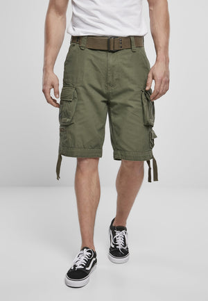 Savage Vintage Cargo Shorts (9 Colors | Sizes s - 7xl) Olive / s Pants Brandit