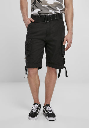 Savage Vintage Cargo Shorts (9 Colors | Sizes s - 7xl) Black / s Pants Brandit