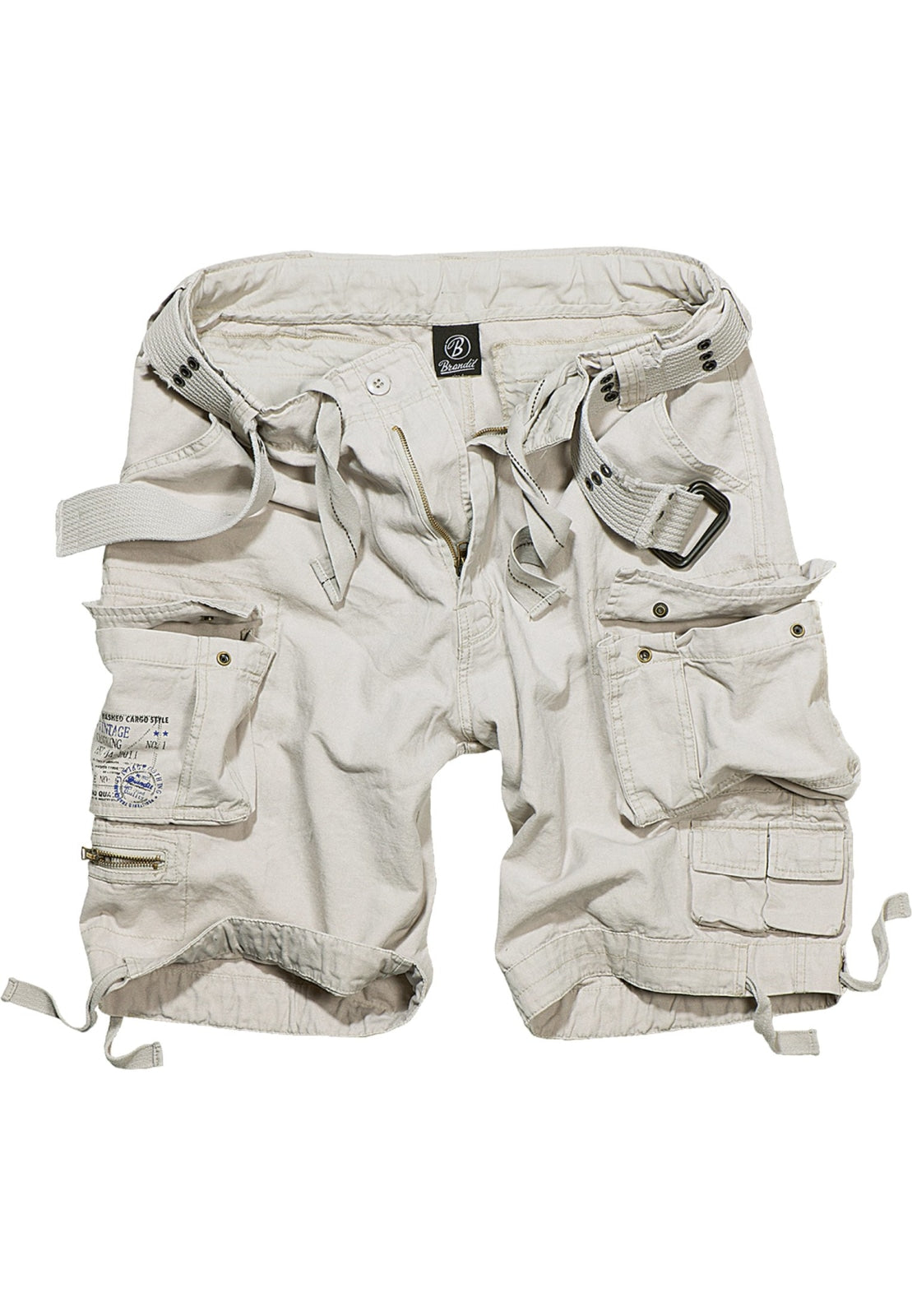 Savage Vintage Cargo Shorts (9 Colors | Sizes s - 7xl) White / s Pants Brandit