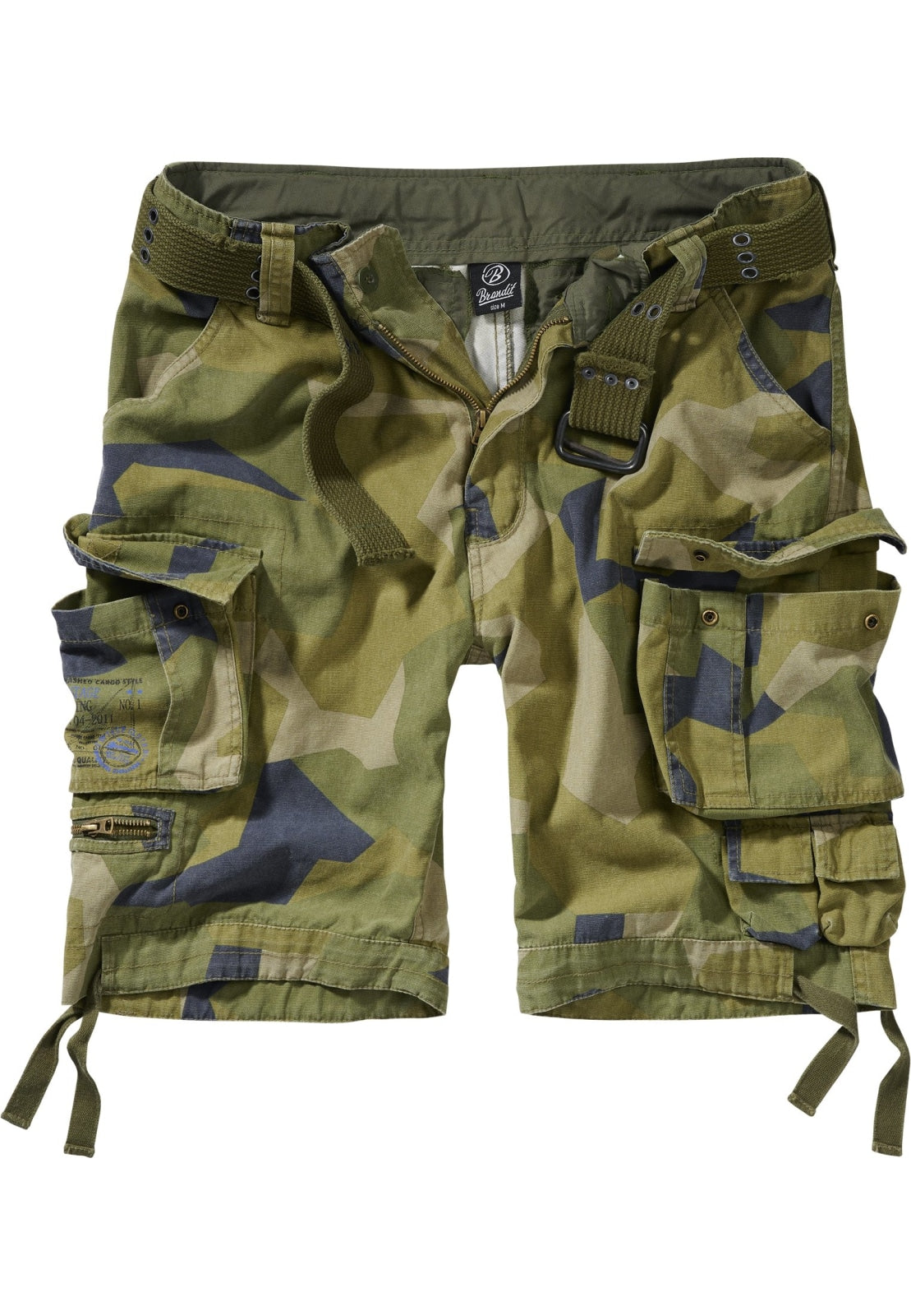 Savage Vintage Cargo Shorts (9 Colors | Sizes s - 7xl) Wood Camouflage / s Pants Brandit