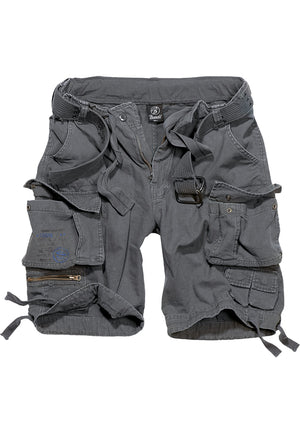 Savage Vintage Cargo Shorts (9 Colors | Sizes s - 7xl) Charcoal / s Pants Brandit