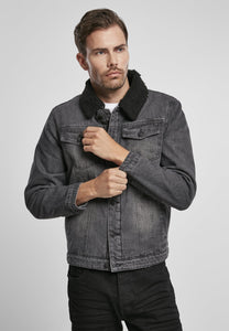 Sherpa Demin Jacket Jacket Light Brandit