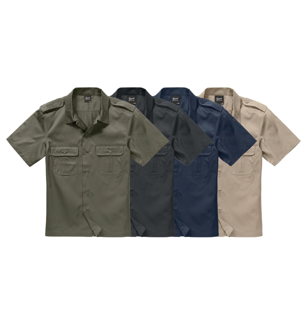 Short Sleeves us Shirt Shirt Brandit